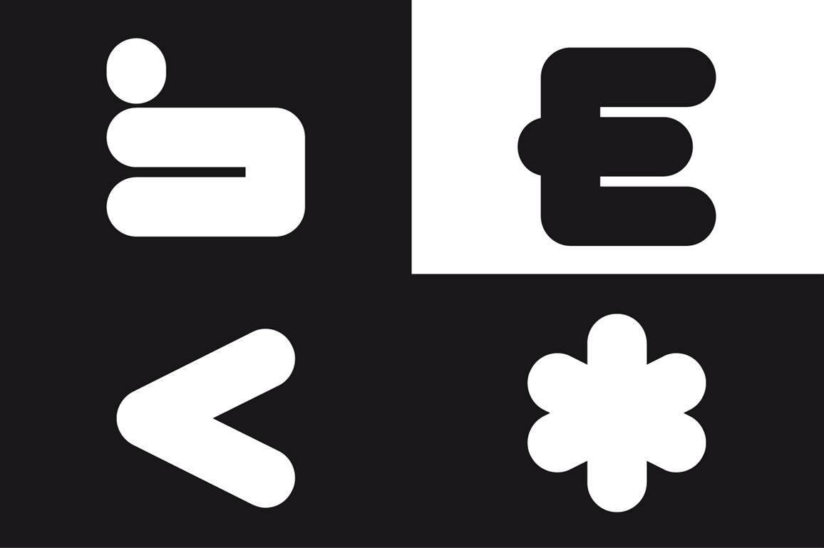 CYLINDER Black Font presentation