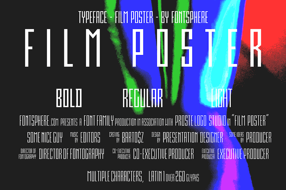 Film Poster Font