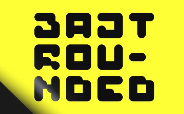 BAJT Rounded Font